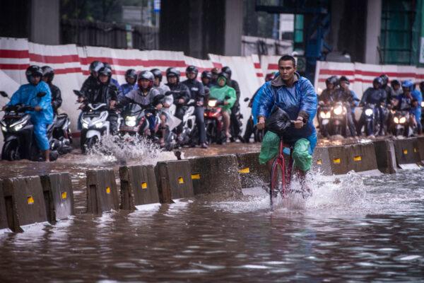 Indonesia-Jakarta-Floods