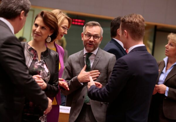 Meeting of EU General Affairs ministers in Brussels