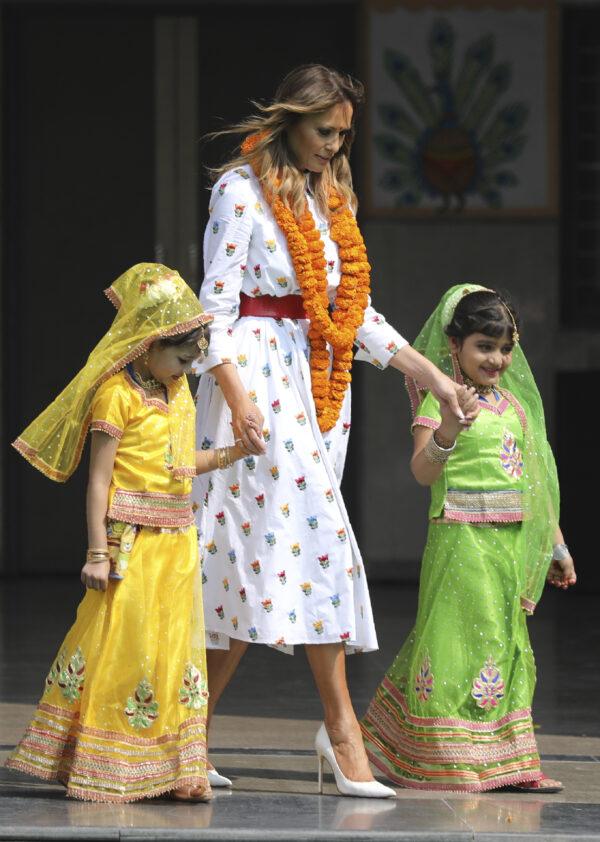 Melania-Trump-School-in-New-Delhi-India