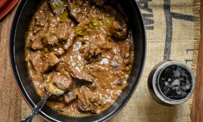 A rich gravy and hearty chunks of beef make carbonnade the perfect comfort food. (Audrey Le Goff)