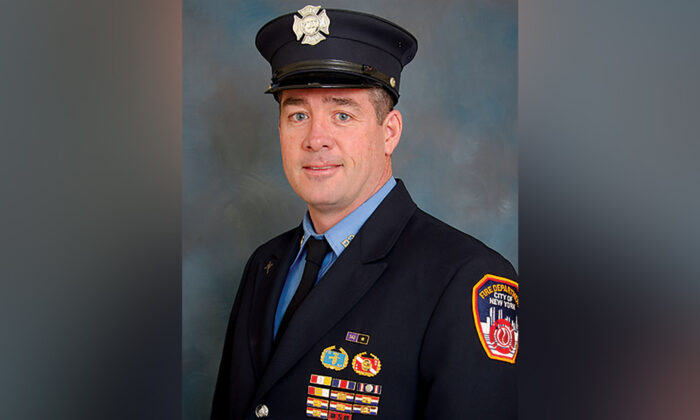 Retired New York City firefighter Daniel Foley died from pancreatic cancer related to his efforts on 9/11. (New York City Fire Department)