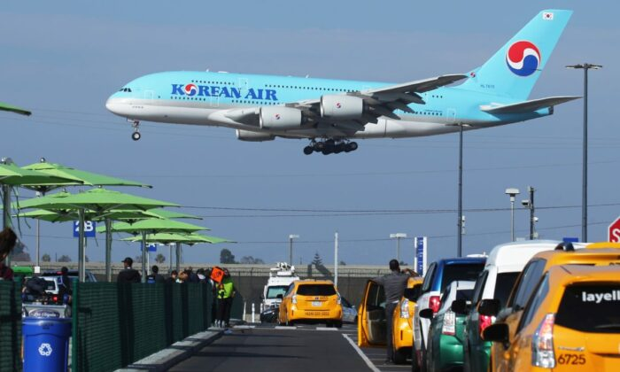 A Korean Air plane in a file photo. (Mario Tama/Getty Images)