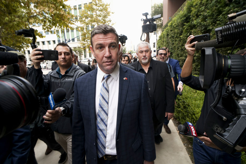 Duncan Hunter Gets 11 Months In Prison Over Misuse Of Campaign Funds