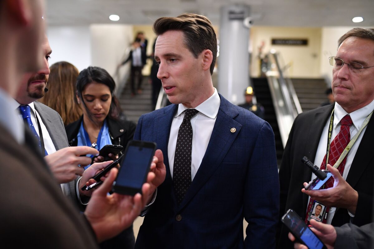 Josh Hawley Introducing New Legislation to Reduce US Reliance on Chinese Medical Supplies