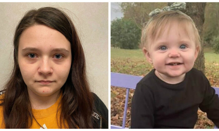 Megan Boswell (L) and her daughter 15-month-old Evelyn Boswell. (Tennessee Bureau of Investigation)