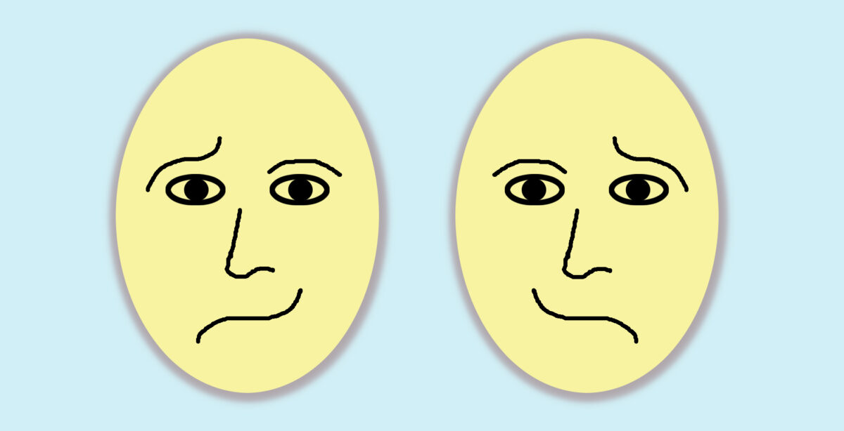 Personality test: The face you choose to describe each emotion can tell your underlying character