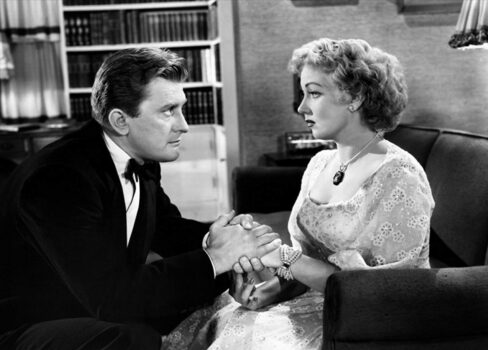 Kirk Douglas and Ann Sothern