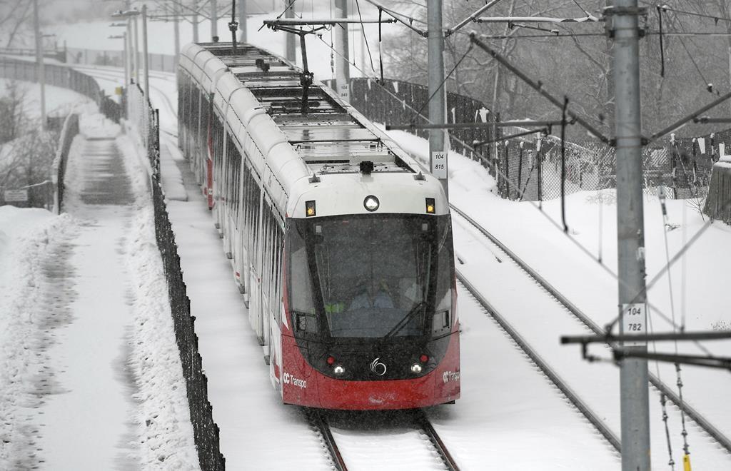 Ottawa's Light Rail Transit Leaves Thousands Stranded in Heavy Snow Story