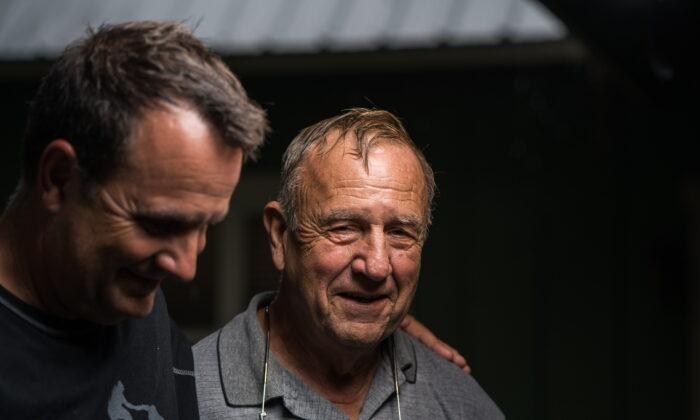 Scott and his father Rex Mann. (Courtesy of Scott Mann)