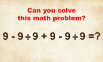 Not Everyone Can Solve This 'Simple' Math Problem From the 1950s Without a Calculator–Can You?