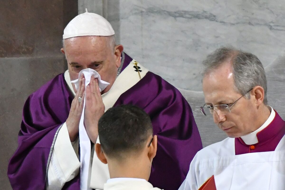 Pope Francis Cancels Meeting With Rome Priests Over 'Slight' Illness
