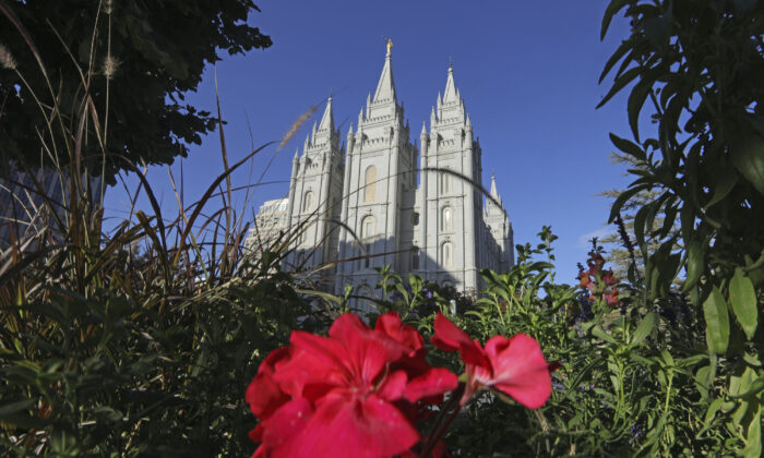 Salt Lake Temple at Temple Square in Salt Lake City on Oct. 4, 2019. (Rick Bowmer/AP Photo File)