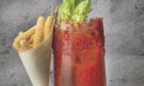 Spiced Kimchi Mary