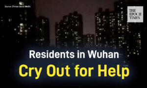 Residents in a Wuhan Community Cry Out for Help