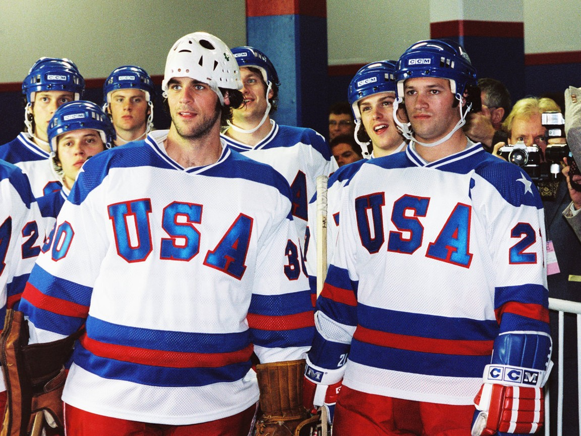 American 1980 Olympic hockey team