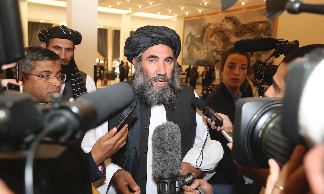 Taliban leader Mullah Abdul Salam Zaeef