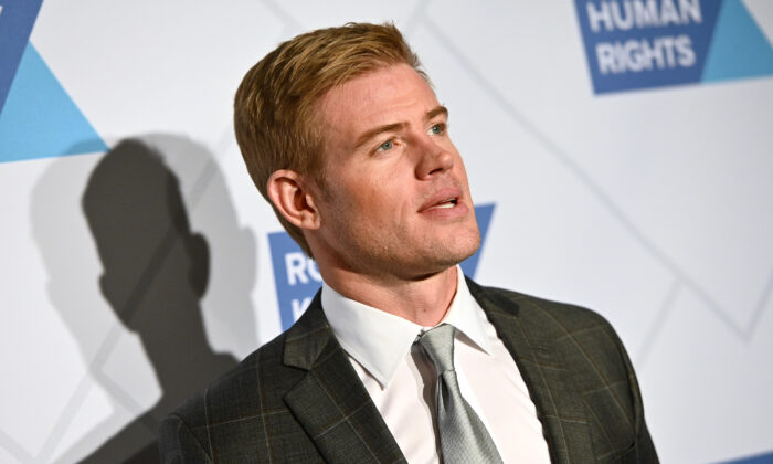 Trevor Donovan attends the Robert F. Kennedy Human Rights Hosts 2019 Ripple of Hope Gala & Auction in NYC, in New York City on Dec. 12, 2019. (Mike Pont/Getty Images for Robert F. Kennedy Human Rights)