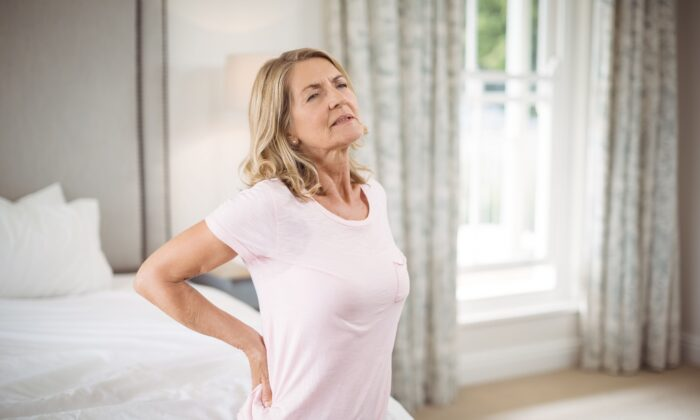 Women with low vitamin D levels face a greater likelihood of moderate to severe lower back pain and more severe lumbar disc degeneration, suggests a new study.(Wavebreakmedia/Shutterstock)