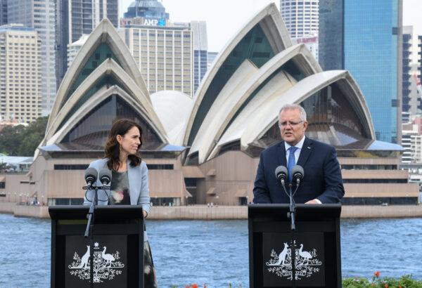 Scott Morrison And Jacinda Ardern Attend Australia-New Zealand Leaders' Meeting