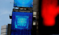 Chinese State-Run Media Uses Times Square Video to Claim China Leading the Fight Against COVID-19