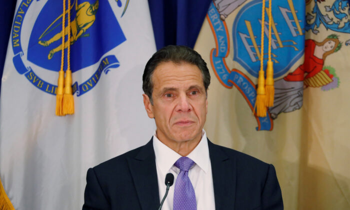 New York Governor Andrew M. Cuomo in New York City on Oct. 17, 2019. (Lucas Jackson/Reuters)