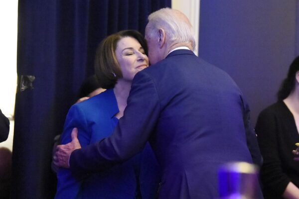 Amy Klobuchar, Joe Biden