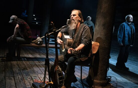 Composer and musician Steve Earle