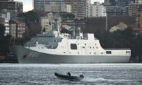 Chinese Research Vessel Detected Mapping Waters off Australia's Western Coast