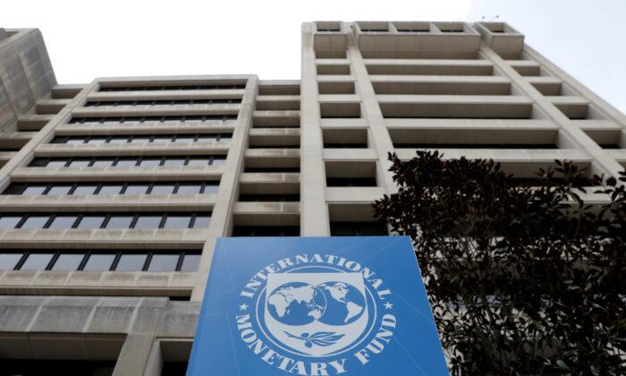 The International Monetary Fund (IMF) headquarters ahead of the IMF/World Bank spring meetings in Washington, on April 8, 2019. (Reuters/Yuri Gripas/File Photo)