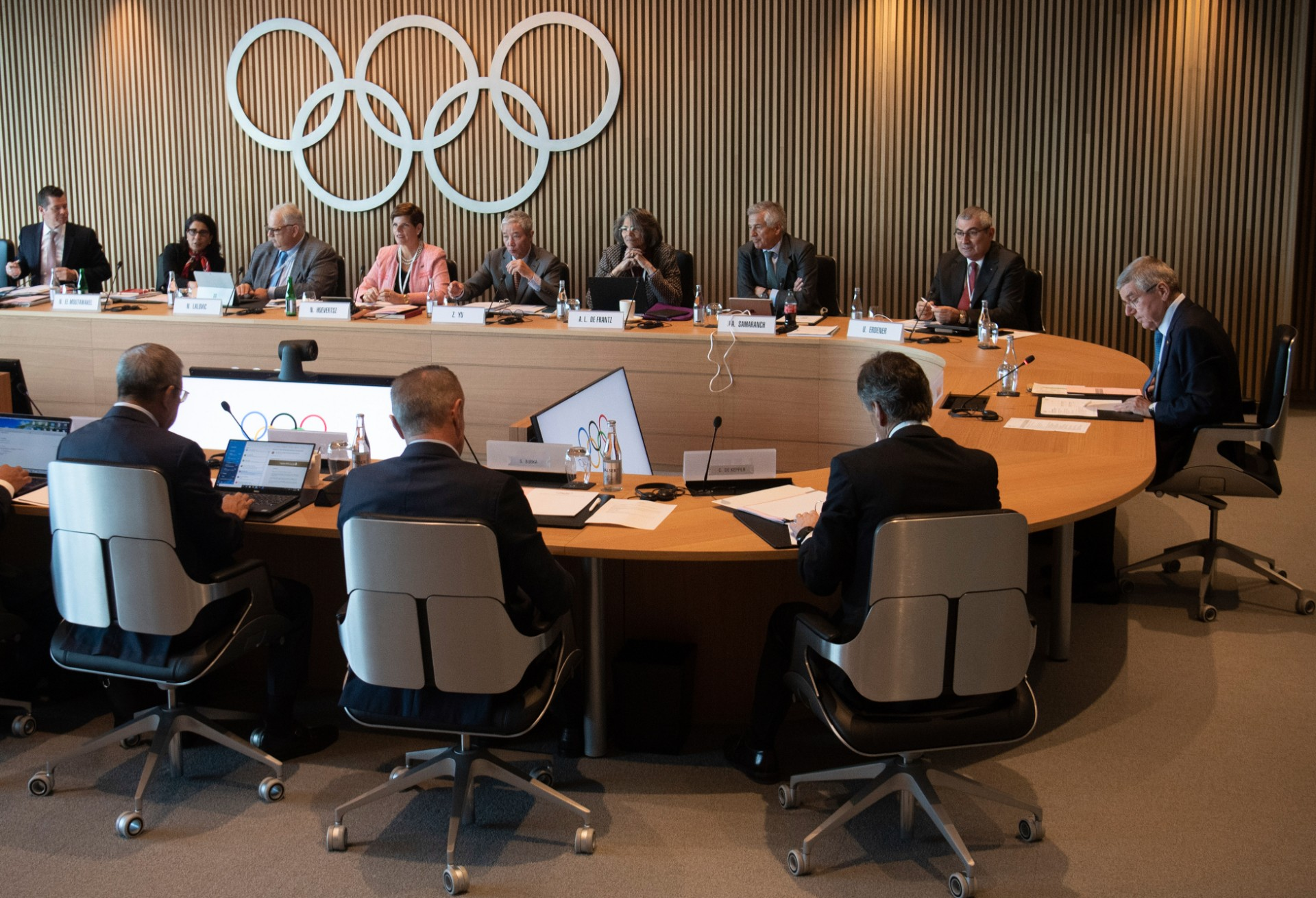 International Olympic Committee (IOC) at the Olympic House