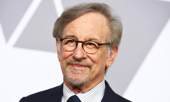 Steven Spielberg arrives at the 90th Academy Awards Nominees Luncheon in Beverly Hills, Calif. on Feb. 5, 2018. (Jordan Strauss/Invision/AP, File)