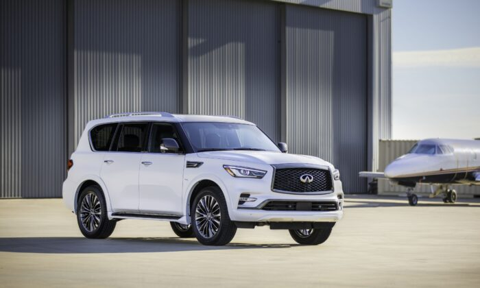 2020 Infiniti QX80. (Courtesy of Infiniti)