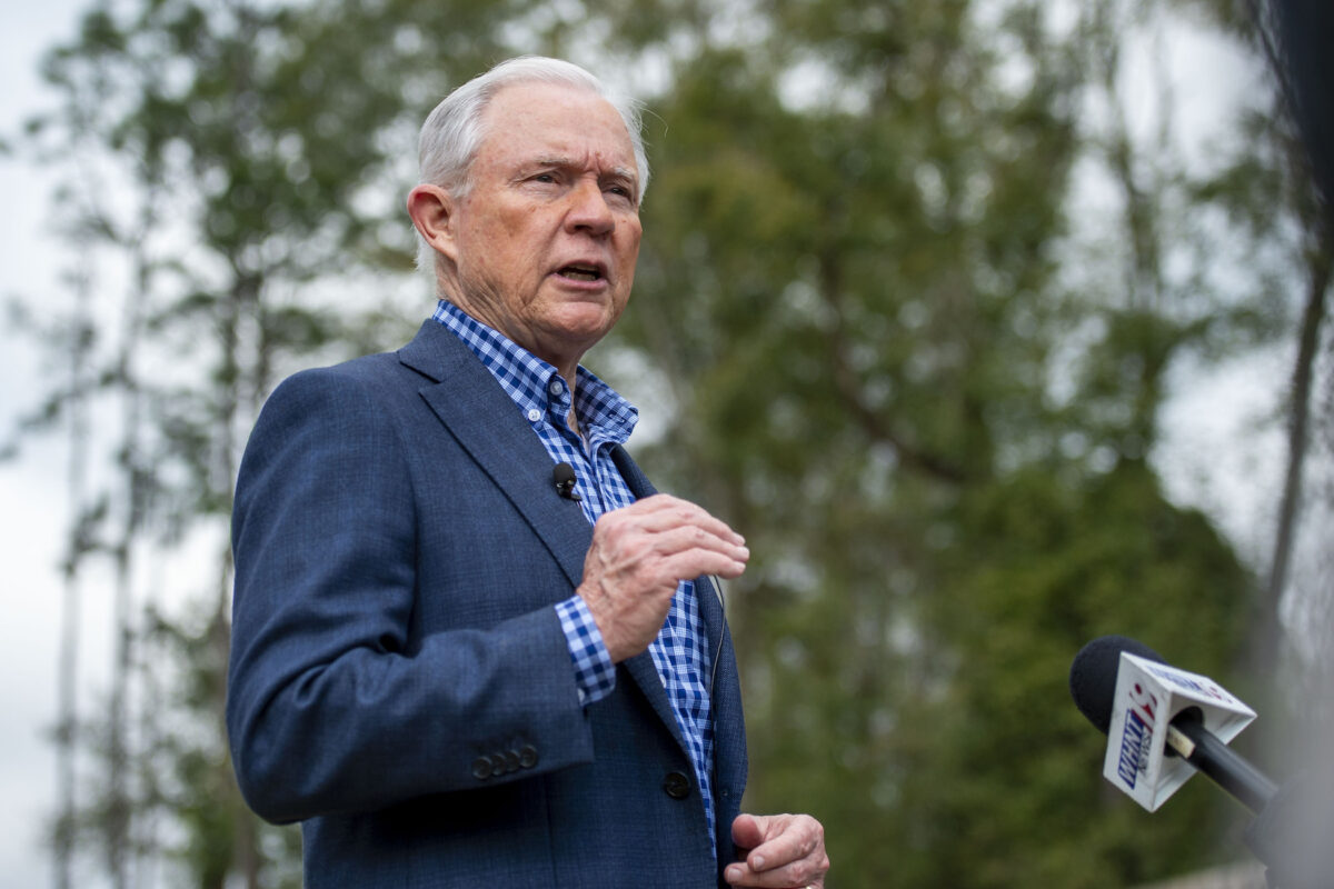 Seeking comback, Sessions faces Tuberville in Alabama race