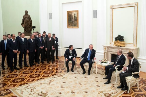 The Turkish and Russian leaders-talks in Moscow