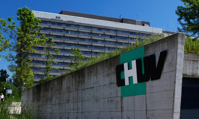 The University Hospital (CHUV) is pictured in Lausanne, Switzerland, on June 16, 2014. (Denis Balibouse/Reuters)
