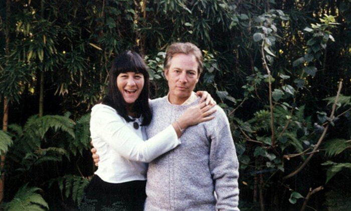 Susan Berman (L) and Robert Durst pose sometime in the mid- to late 1990s. (Courtesy of Sareb Kaufman/HBO)