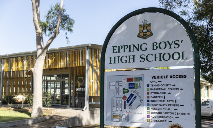 A general view at Epping Boys High School in Sydney, Australia on March 6, 2020. (Brook Mitchell/Getty Images)