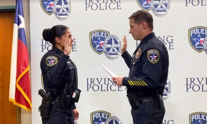 (Facebook Video Screenshot   Irving Police Department)