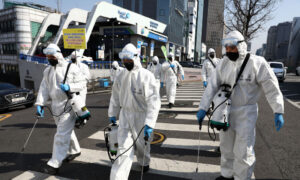 South Korea Protests Japan's Quarantine Plan as Infections in South Korea Rise to Over 6,500