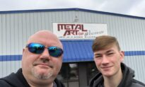 A Father and Son Build a Multimillion-Dollar Business With Patriotic Metal Art