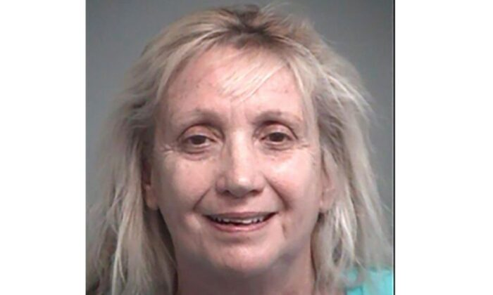 Cheryl A. Hall in a police photo (Lake County Sheriff's Office)