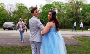 Teen Makes Prom Gown From Scratch for Best Friend Who Can't Afford Dream Dress, and It Lands Him a Job