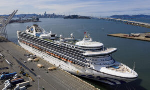 Infected Cruise Ship Unloads Passengers in California