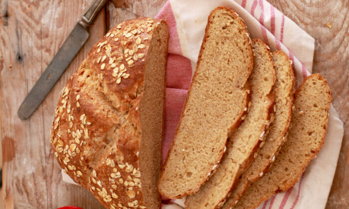 This traditional Irish soda bread has a beautiful crust, a dense crumb, and a lovely wheat flavor. (Gemma Stafford)