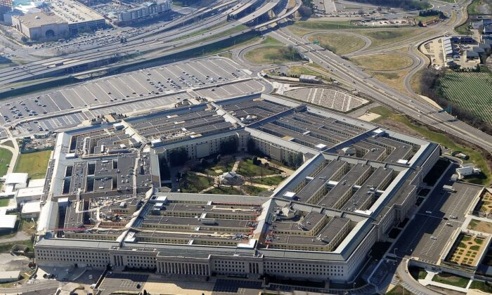 Aerial view of the Pentagon in Washington. (AFP/Getty Images)