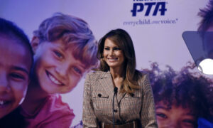 Melania Trump Speaks at PTA Conference, Urges Anti-Cyberbullying Efforts