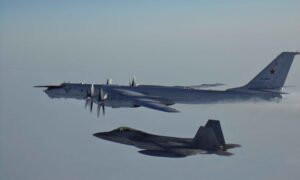 Russian Nuclear-Capable Bombers Intercepted by US Aircraft Near Alaska
