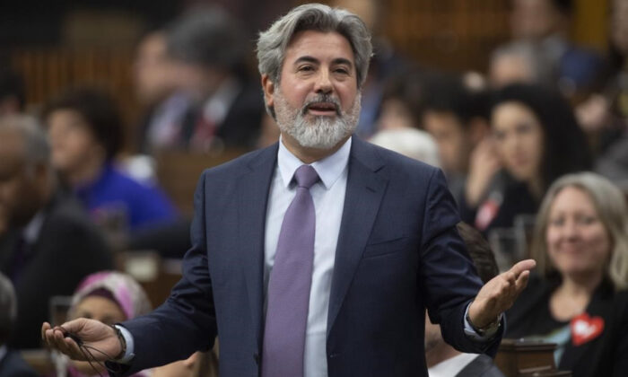 Leader of the Government in the House of Commons Pablo Rodriguez responds to a question during Question Period in the House of Commons in Ottawa on March 10, 2020. (Adrian Wyld/The Canadian Press)