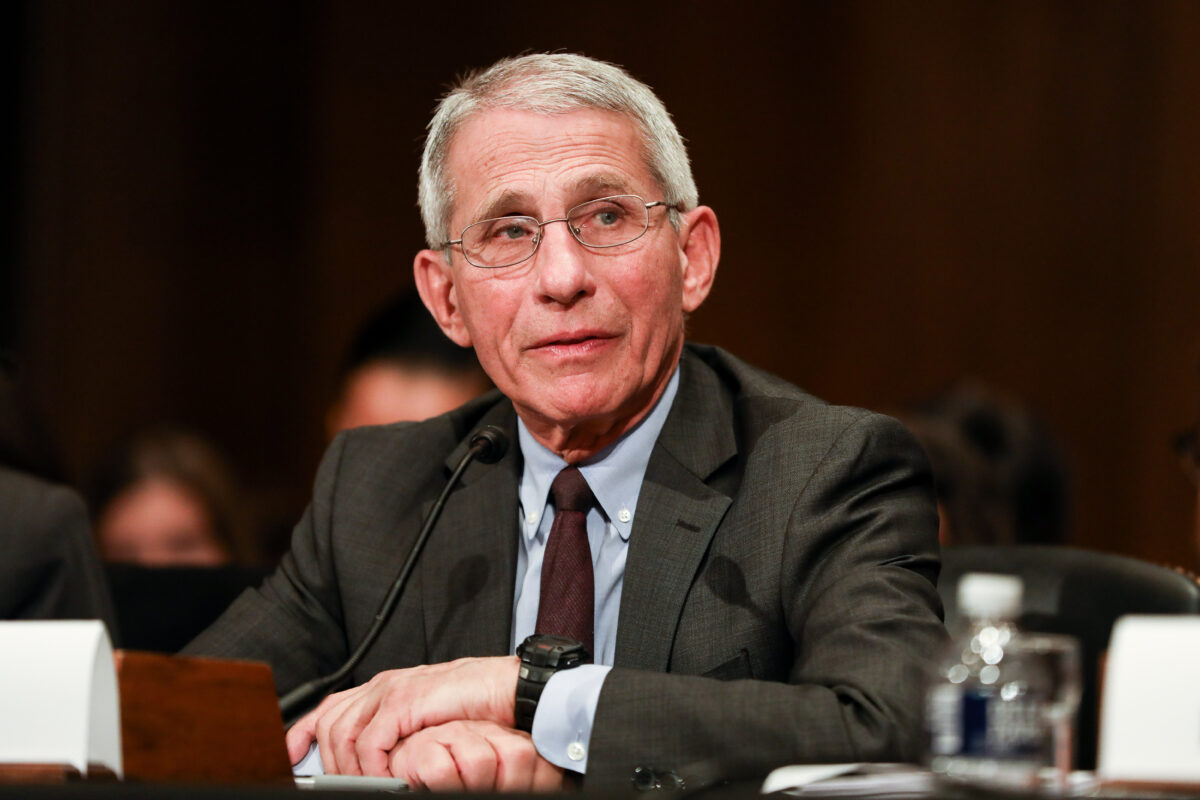 Dr. Fauci Calls for 'Dramatic Diminution' of Public Interactions Amid Coronavirus Pandemic