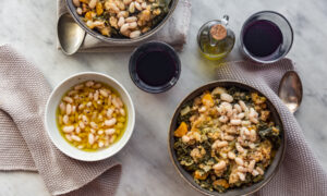Ribollita (Tuscan White Bean, Kale, and Bread Soup)